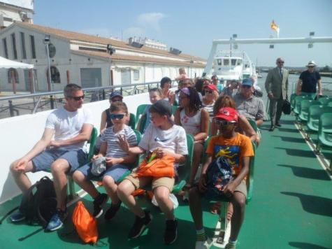 en Catamaran a Cadiz