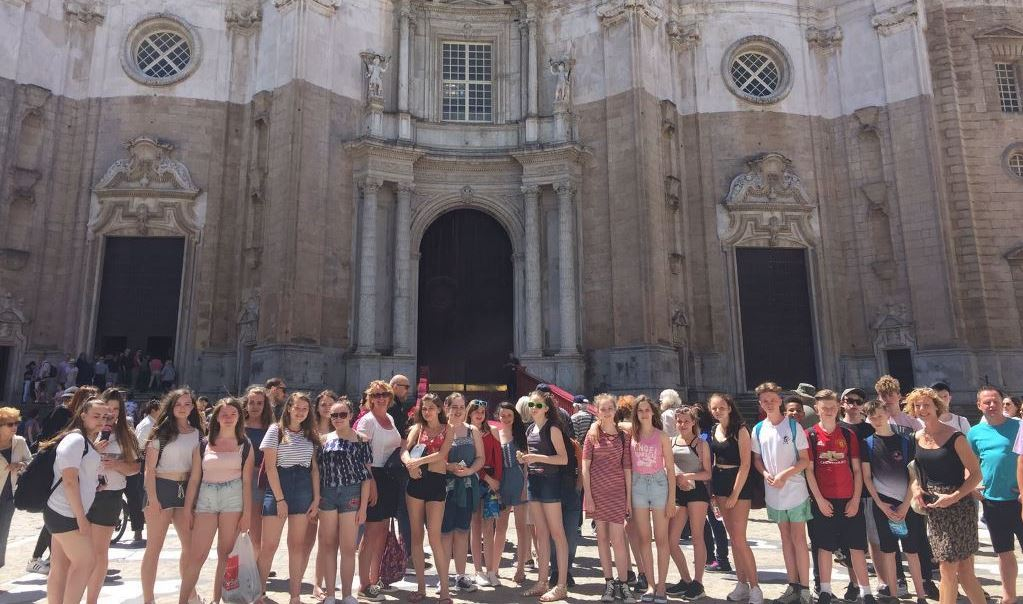 Dyson Perrins School trip to Spain
