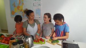 Paella clas El Puerto Spanish School Tours