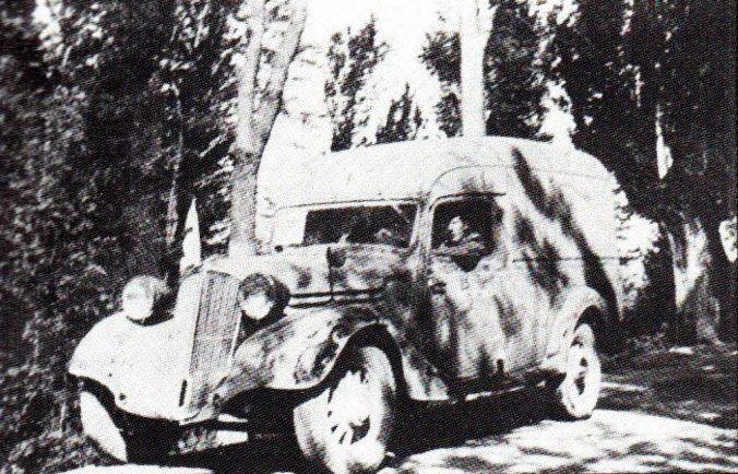 Marius Christiansen i ambulance nr. 7