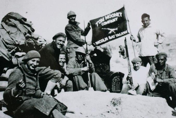 Tom Mooney Company from the Lincoln Battalion. Jarama, c. 1937. Photo: commons.wikimedia.org