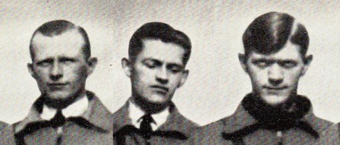 Gunnar, Carl og Emil Sørensen