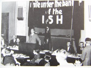 The ISH Congress, Hamburg in 1932, in which Joe Bianca participated