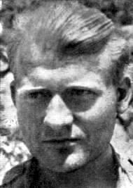 """""""Færøske og islandske spaniensfrivillige"""": Hallgrimur Hallgrimsson ved Ebro i september 1938"""
