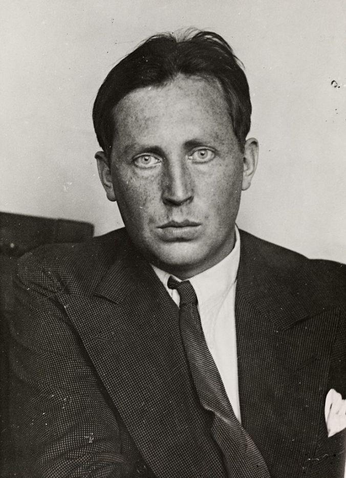 Den norske forfatter Nordahl Grieg i 1930'erne