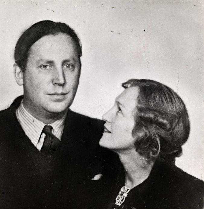 Portrætfoto af Nordahl og Gerd Grieg