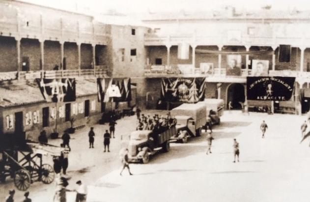 De Internationale Brigaders kaserne i Albacete