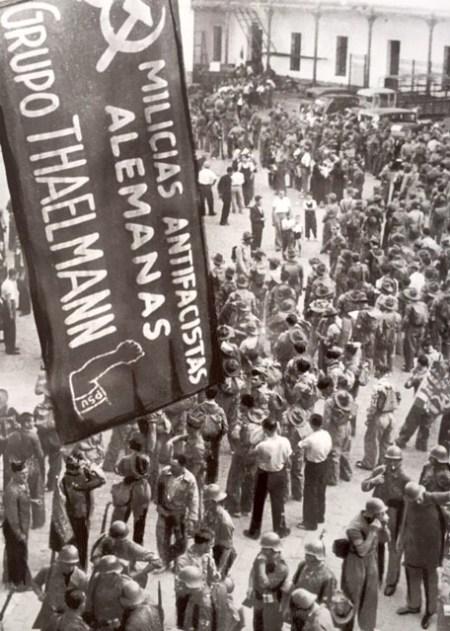 De Internationale Brigader: Thälmann-bataljonen i Albacete