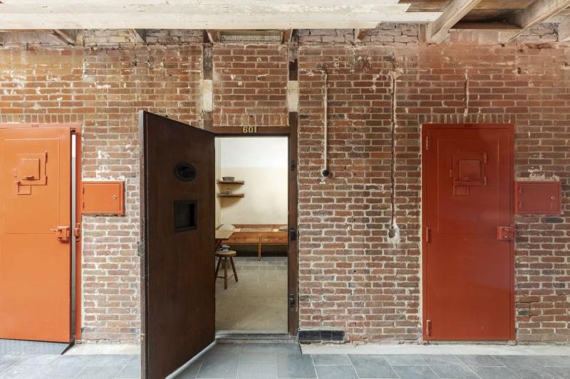 Scheveningen-Gefängnis in Den Haag mit dem Spitznamen Oranjehotel (Orange Hotel)
