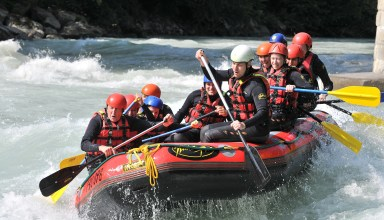 Rafting is one of the sports featured on the Costa Blanca´s new tourism promotion