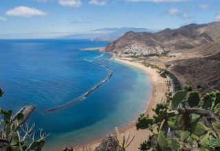 Tenerife island in the summer
