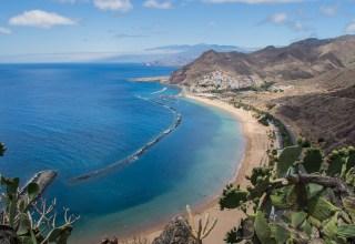 Tenerife island in the summer
