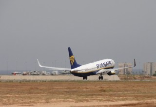 Ryanair departures from Alicante Elche airport