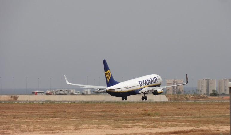 Ryanair departures from Alicante Elche airport