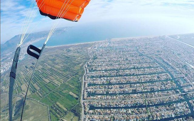 skydiven in Empuriabrava