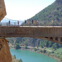 Spannende wandeling over El Caminito del Rey, het koningspad
