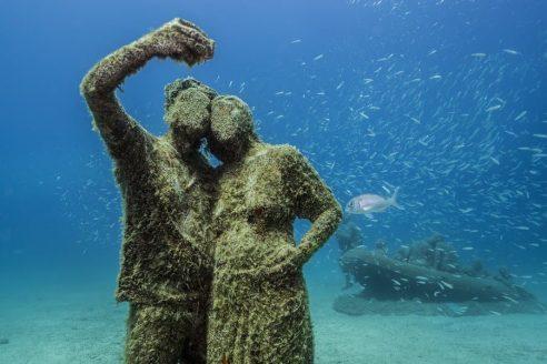 Onder water naar een museum -5