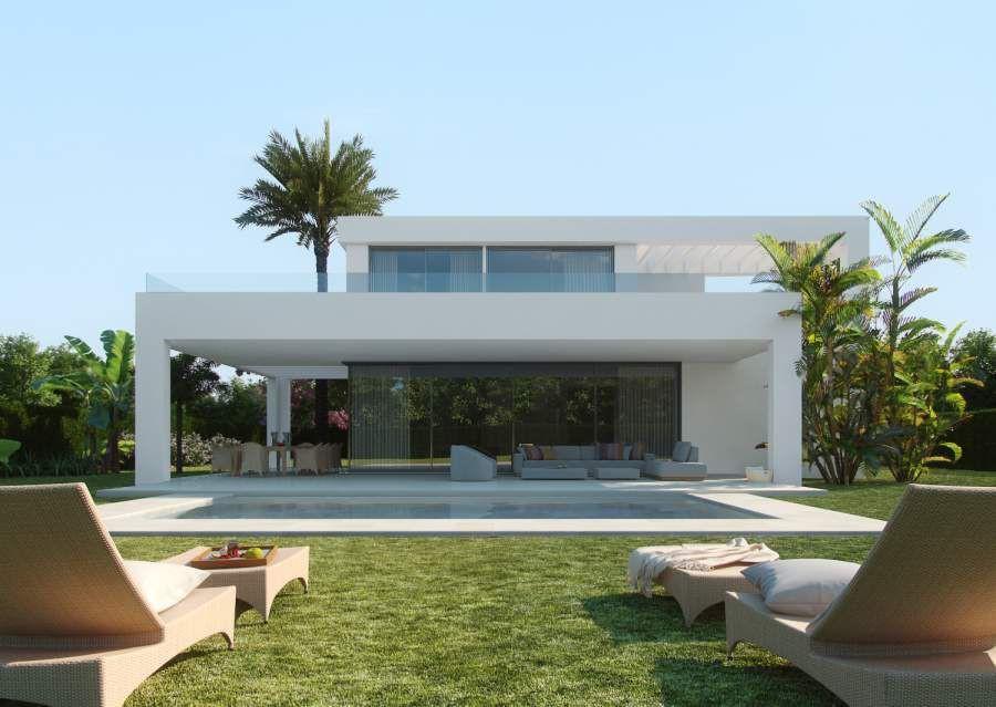 Nieuwe moderne villa aan de oostkant van Marbella  Spanje Specials