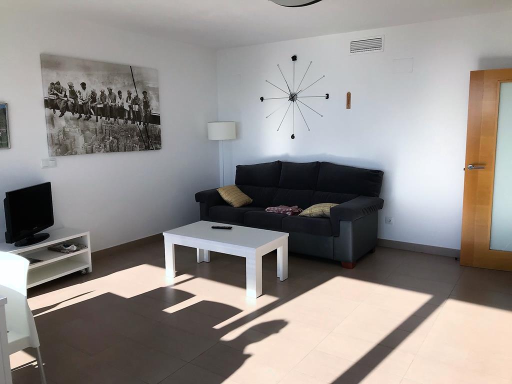 sofa beds costa blanca modular leather uk zeezicht appartement in benidorm levante spanje specials