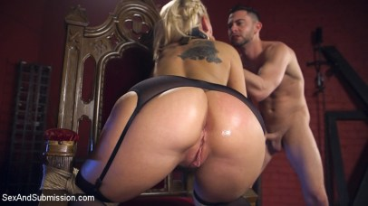 Kenzie Taylor's ass at Sex and Submission