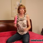 Jamie Foster Strips - Spankable Hot Mom - Stepmom