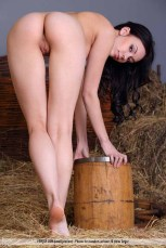 Joanna - I Love Riding - Femjoy - Spankable in the Barn