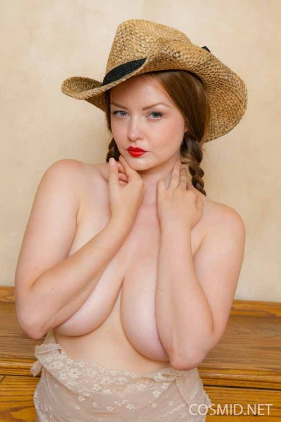 Big-boobed Natasha Dedov is a spankable cowgirl - Cosmid
