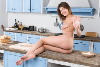Monika - Horny Cook - Watch4Beauty - 03