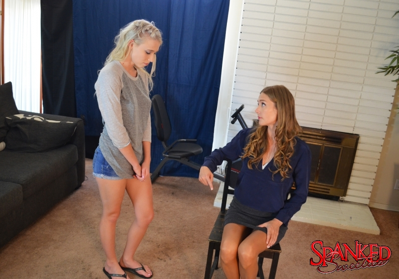 Riley Anne and Star Nine at Spanked Sweeties - 001