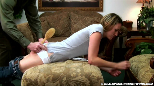 Tickled and spanked publicly stripped