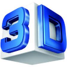3D Logo 3D Spanndecken vom Spanndeckenteam