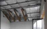 Trockenbau Innenausbau Teil-Deckenverkleidung Sparren bleiben sichtbar