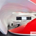 Barrisol 3D vormen Rood en Wit