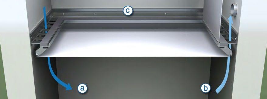 Uitleg hoe het Barrisol Clim plafond werkt