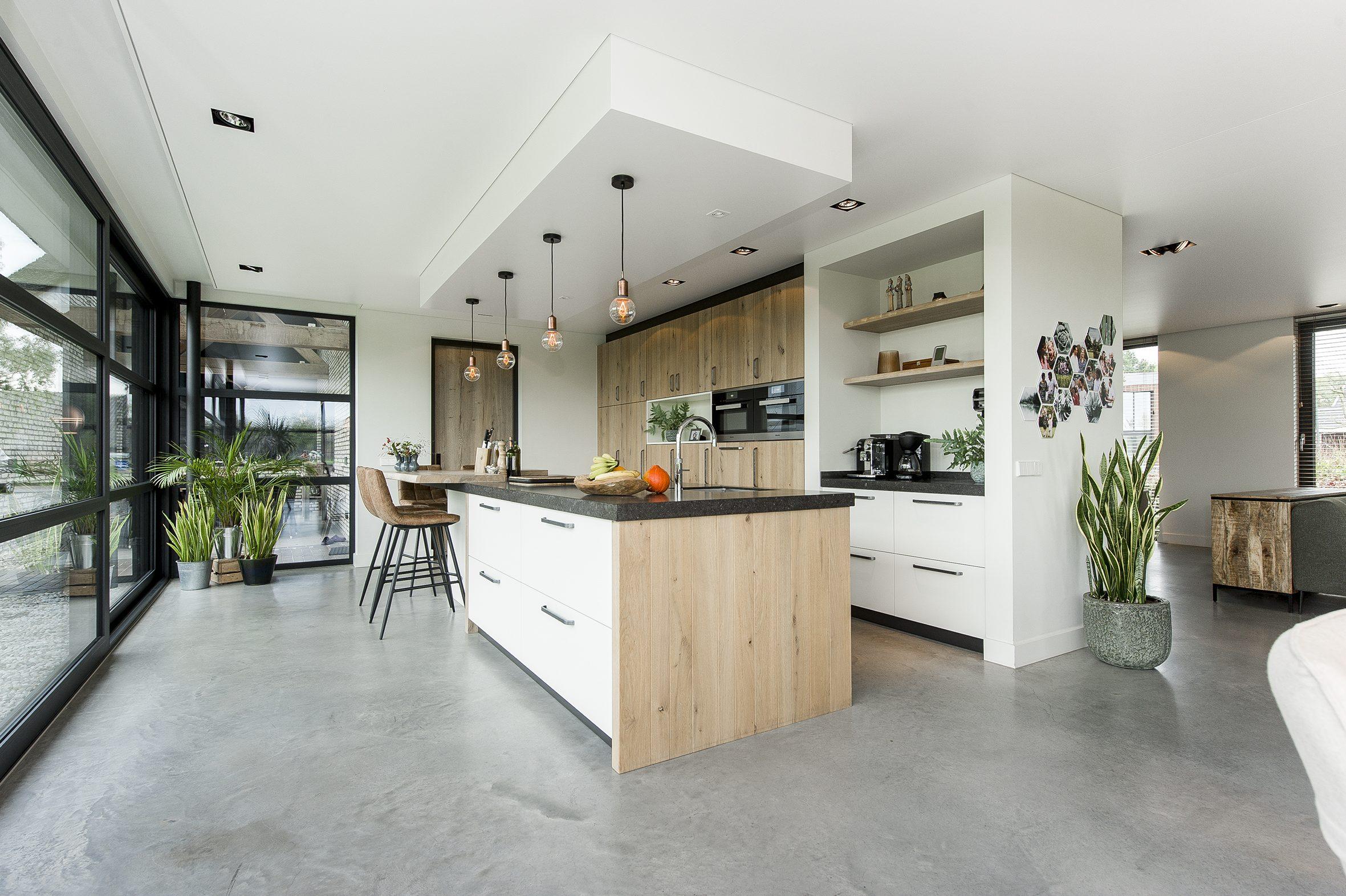 Barrisol akoestisch spanplafond in keuken