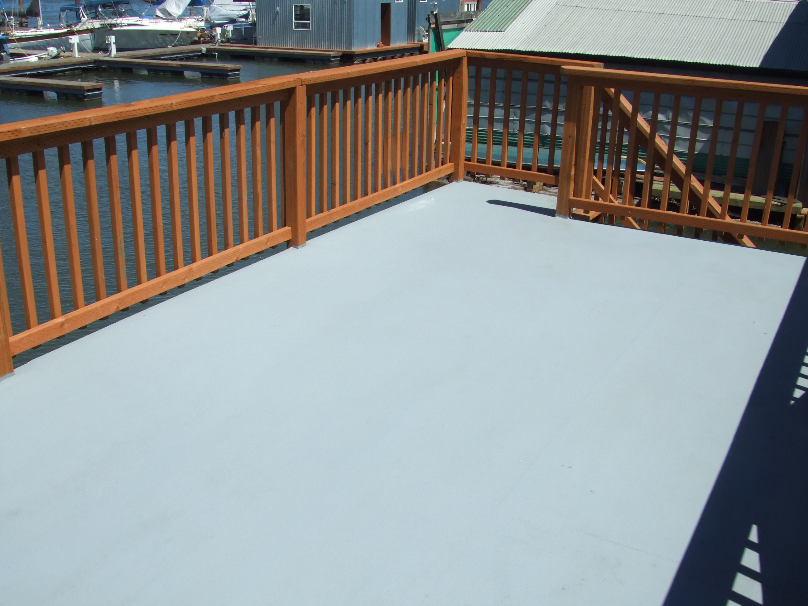Spantex photo gallery waterproof deck coating