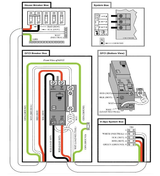 how to wire a hot tub diagram code alarm ca1051 wiring spa heater images