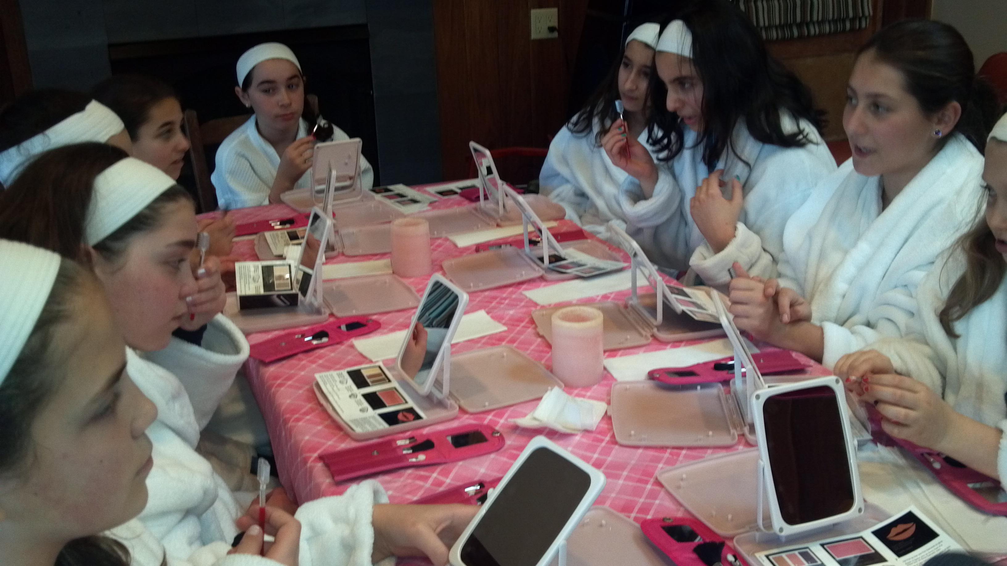 Girl  Teens Spa Parties  Spa Party Sisters We Bring