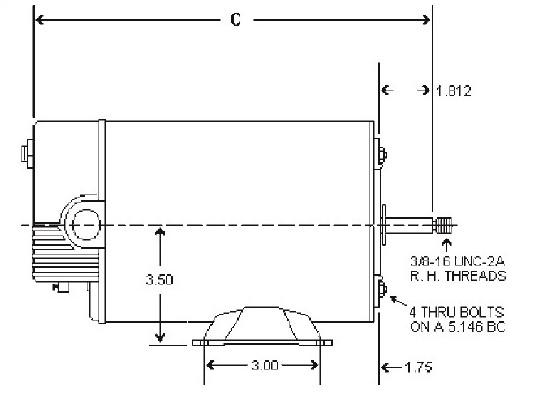 ao smith spa pump motors  hot tub motors  bn51  century