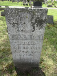 Grave of T. H. Chapin