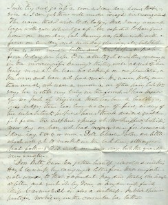 1846 Letter, Page 2
