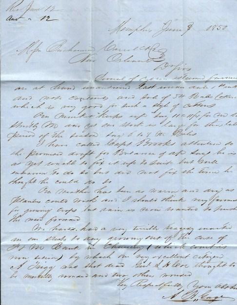 1850 Letter
