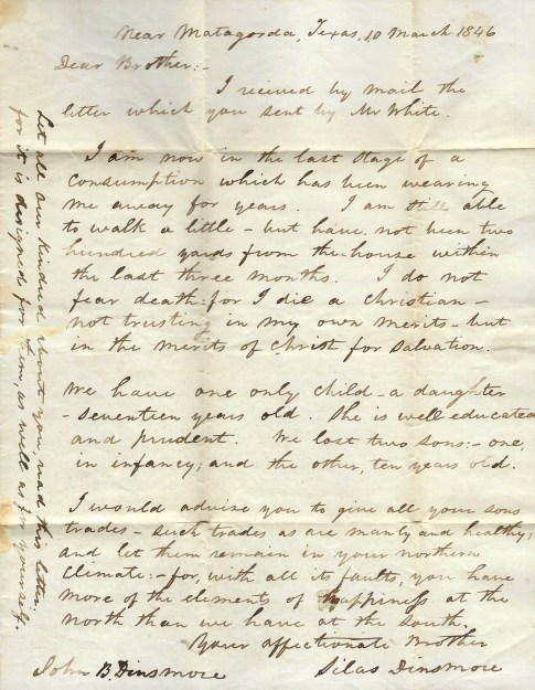 1846 Letter