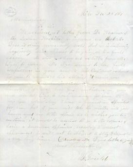 W. E. Gould Letter