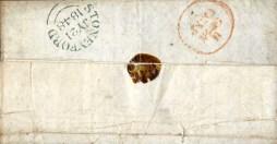 Postal marks on Letter