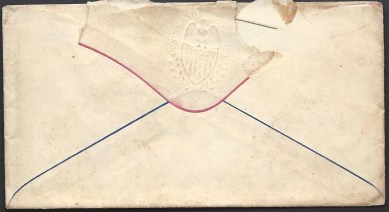 Rear of Envelope