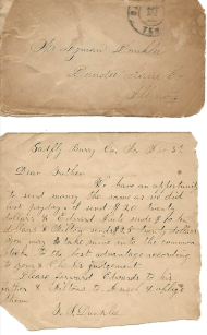 Envelope & Note