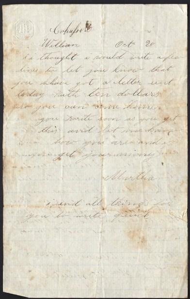 Martha's Letter
