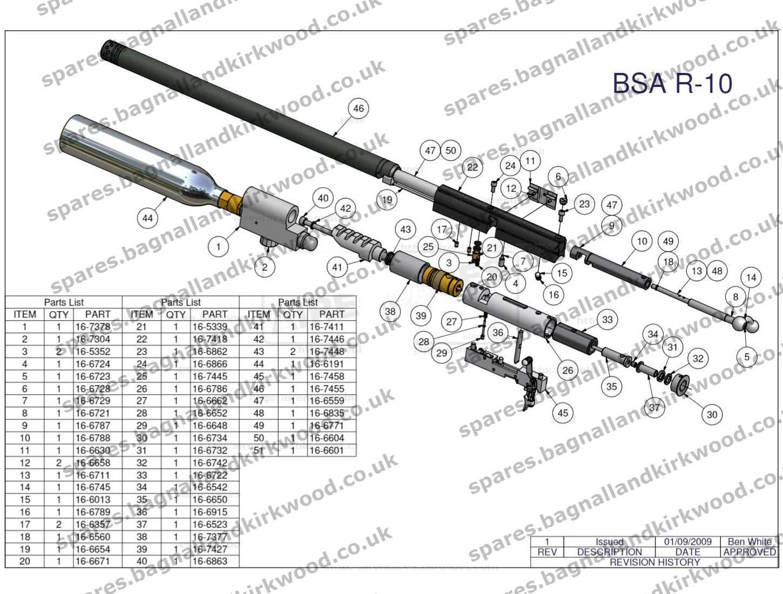 Bsa R10 R10 Mk2 Amp R 10 Se