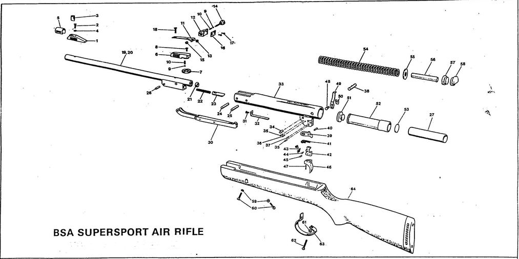 Air Rifle Parts Diagram Free Wiring Diagram For You